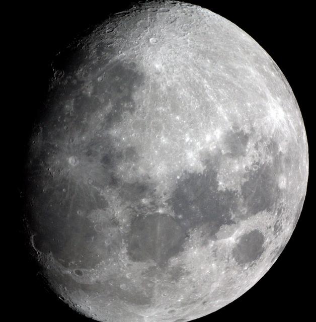 Luna Gibosa Creciente Fases Lunares