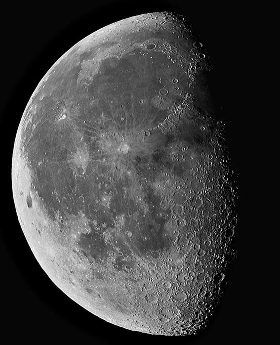 luna gibosa menguante Fases Lunares